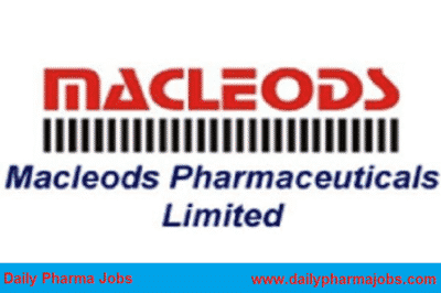 Macleods Pharmaceuticals limited – Golden Opportunity for Freshers – Human Resource ( HR ) Department || Apply Now