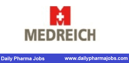 MEDREICH LIMITED – Urgent Openings for Regulatory Affairs / Packaging Development